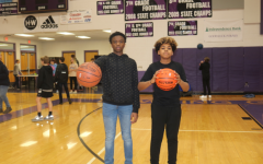 8th graders Javen Huddelston (left) and Elijah Howard (right) have lead there team to many victories.