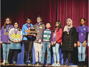 Ansh Chhabra- 1st place Mathematics, 2nd Place Science Ariti Gani- 1st Place Science Khadija Hasanova- 4th Place Math Will Hackbarth- 3rd Place Social Studies Stockton Beasley-Brown- 4th Place Social Studies Grant Clemons- 5th Place Social Studies, 4th Place Language Arts Mallory Quinn- 5th Place Language Arts, 4th Place Arts and Humanities Dawson Hu- 2nd Place Arts and Humanities Nate Stein- 3rd Place Written Composition all of these students are on BGJHS Academic Team.